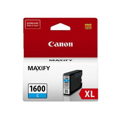 Genuine Canon PGI-1600XL Cyan Ink Cartridge