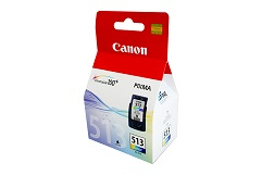 Genuine Canon CL513 Colour ink cartridge