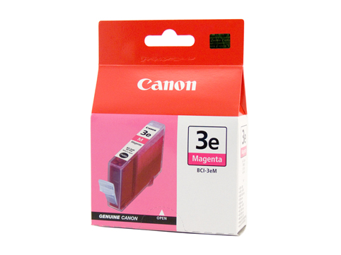 Genuine Canon BCI-3eM (Magenta) ink cartridge