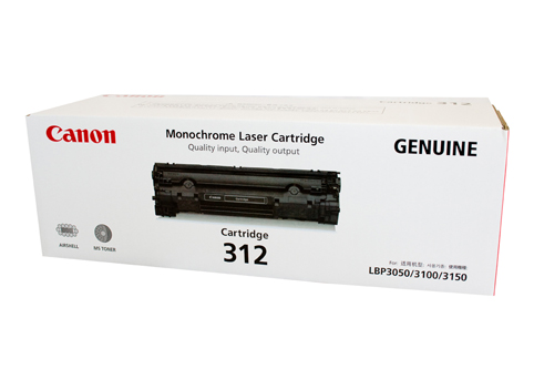 Genuine Canon CART312 Black Toner cartridge