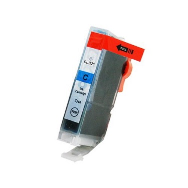 Compatible Canon CLI521C (Cyan) ink cartridge