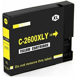 Compatible Canon PGI-2600XL Yellow Ink Cartridge