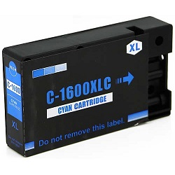 Compatible Canon PGI-1600XL Cyan ink cartridge
