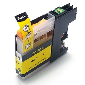 Compatible Brother LC231XL (LC233) Yellow ink cartridge