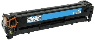 Remanufactured HP128A Cyan toner cartridge (CE321A)