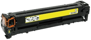 Remanufactured HP128A Yellow toner cartridge (CE322A)