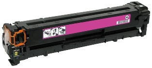 Remanufactured HP128A Magenta toner cartridge (CE323A)