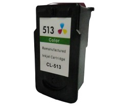 Remanufactured Canon CL513 Colour ink cartridge