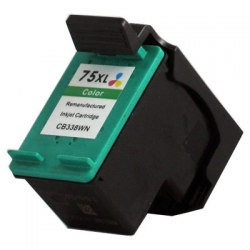 Remanufactured HP 75XL (Colour) High Capacity ink cartridge