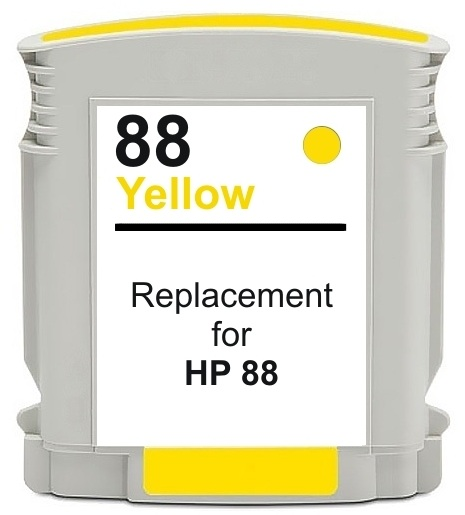 Compatible HP88XL Yellow ink cartridge