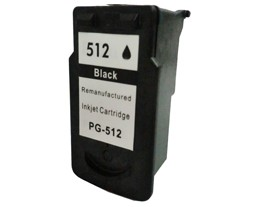 Remanufactured Canon PG512 Black ink cartridge