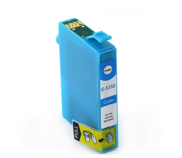 Compatible Epson 133 Cyan ink cartridge