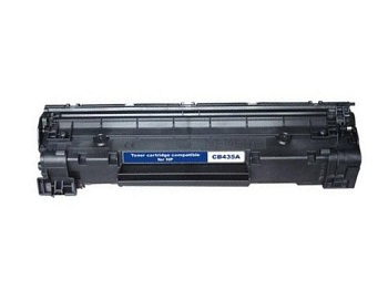 Compatible HP35A Black toner cartridge (CB435A)