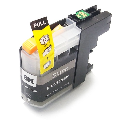 Compatible Brother LC133 Black ink cartridge