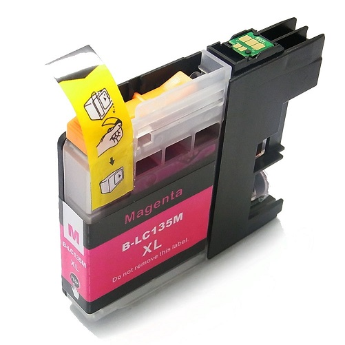 Compatible Brother LC135XL Magenta ink cartridge