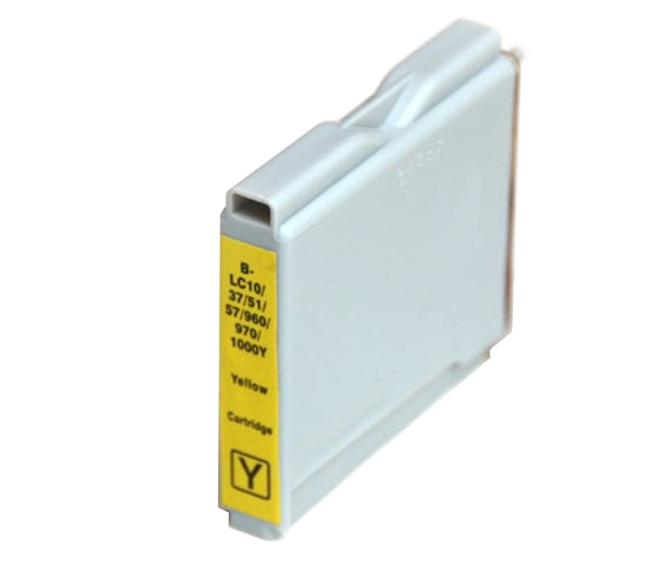 Compatible Brother LC37 Yellow ink cartridge