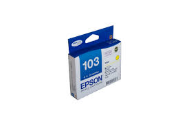 Genuine Epson 103 Yellow Extra High Capacity ink cartridge