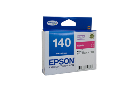 Genuine Epson 140 Magenta ink cartridge