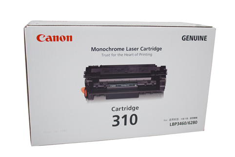 Genuine Canon CART310 Black Toner cartridge