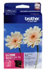 Genuine Brother LC39M (Magenta) ink cartridge