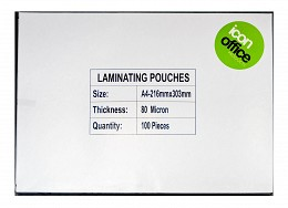 Icon Office Products A4 Laminating Pouches (100 pcs)