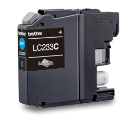 Genuine Brother LC233C (Cyan) ink cartridge