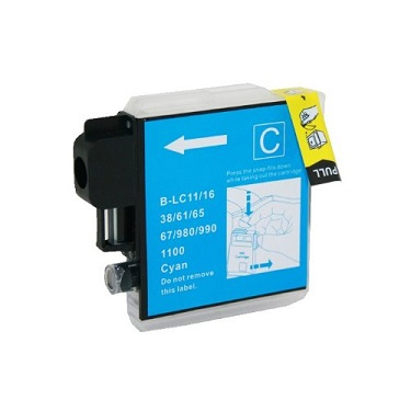 Compatible Brother LC38/LC67 Cyan ink cartridge