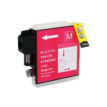 Compatible Brother LC38/LC67 Magenta ink cartridge