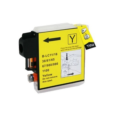 Compatible Brother LC38/LC67 Yellow ink cartridge