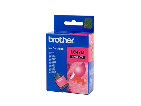 Genuine Brother LC47M (Magenta) ink cartridge