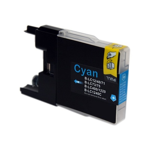 Compatible Brother LC73 Cyan ink cartridge