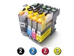 8 Pack Combo Compatible Brother LC231XL/LC233 (2BK/2C/2M/2Y) ink cartridges